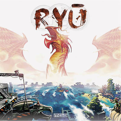 Ryu The Board Game Brand New MGA Age 14+ Free Uk Delivery Strategy For 2-5 Plyrs