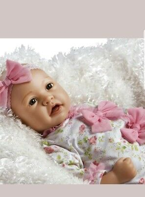 AUTHENTIC Paradise Galleries Real Great to Reborn Baby Doll, Baby Layla-NEW