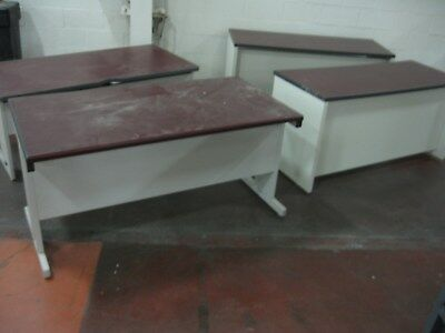 F. Mixed Lot (4) Heavy Duty Tables - (2) 60x24 and (2) 60x30 KNOXVILLE TN