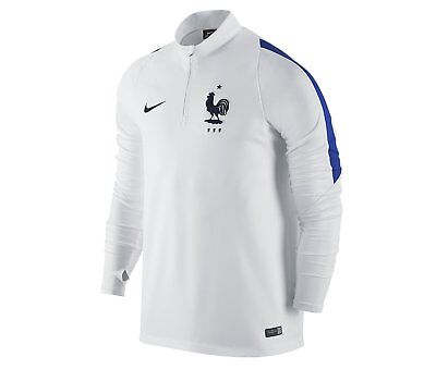 Nike FFF France Men's Squad Drill Top 2016/2017 1/4 Zip Brand New with Tags L