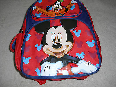 Disney® Mickey Mouse & Pluto Kids Backpack  12""