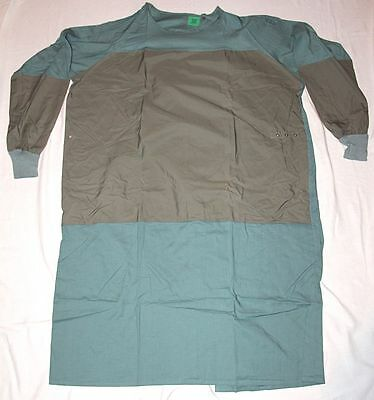 New In Package Vintage Military Surgical Operating Gown, Extra-Large