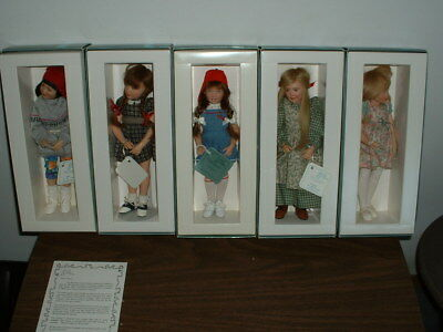 Kish & Company Doll Lot Kelsey, Mary Kate, Hannah, Andie Emmy Lou, New In Boxes