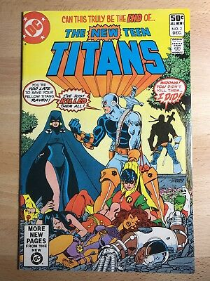 The New Teen Titans 2 & 10! 1st/2nd Appearance of DEATHSTROKE!!! Justice League