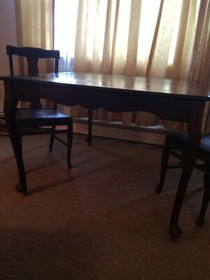 Table, chairs, breakfront and china cabinet for pickup in Bridgeport, CT