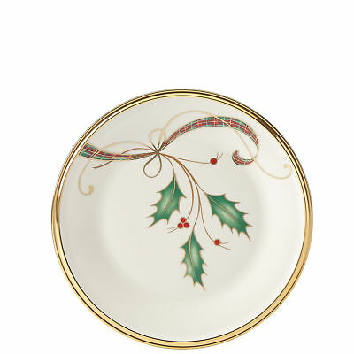 Holiday Nouveau Gold Butter Plate by Lenox - Set of 4