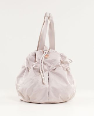 Lululemon Bliss Bag - Bold Blossoms Embossed Dune