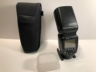 **MINT** Canon Speedlite 600EX-RT Wireless Shoe Mount Flash for Canon