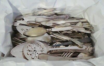 260pc Mixed Silverplate Flatware Silverware Catering Wedding Silver Plate Lot