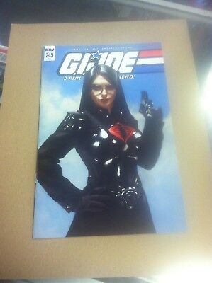 G.I Joe Real American Hero #245 Yesteryear Mercado variant.First printing.