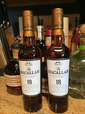 The Macallan 18 Year Old *1991* Highland Single Malt Scotch Whisky. Very Rare.