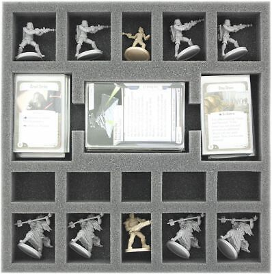 Feldherr Foam Insert 35mm for Star Wars Imperial Assault Twin Shadows Box