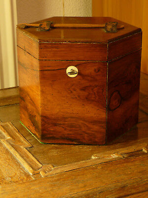Victorian concertina case (about 1855), rosewood, good condition