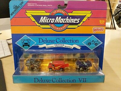 Micro machines,galoob, deluxe collection, sealed,pls read description,