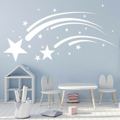 ANGELS DANCED Quote Decal WALL STICKER Art Home Decor Baby Nursery Room SQ1029