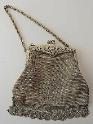 Mesh Clutch Purse from WWII US Zone Germany Era (circa 1945-1952)