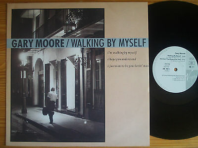 """Gary Moore : Walking By Myself / Still Got The Blues For You  12"""" Vinyl Maxi"""