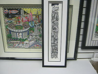 """Charles Fazzino 3D Artwork """" Terror Over Tokyo"""" Signed & Numbered Deluxe Edition"""