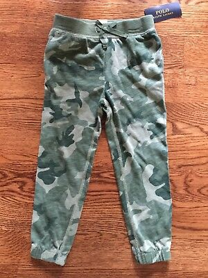 NWT POLO RALPH LAUREN GIRLS SIZE 4 Camouflage Pants MSRP $39.50