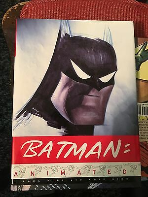 Batman: Animated Art Book Hardcover OOP First Edition Paul Dini