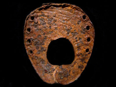 Very Rare Choice Huge Roman Period Iron Horse Shoe, Top Quality+++