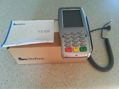VeriFone Vx820 Pin Pad w/ EMV Smart Card Reader & Contactless NFC- Brand New
