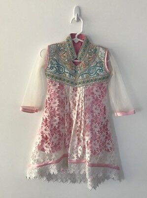 Indian outfit bollywood 1 Piece 2/3 Year Old Toddler Bollywood Dress For Girls