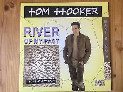 TOM HOOKER - River Of My Past / I Don't Want to Fight  - NEW ITALO DISCO