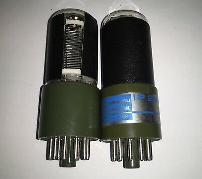 Two Hamamatsu photomultiplier Tubes Type R928/ IP28