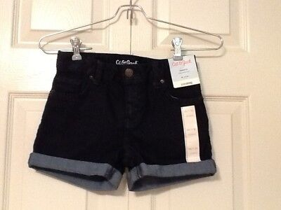 Cat & Jack Girls Denim Shorts Size Medium 7/8 NEW