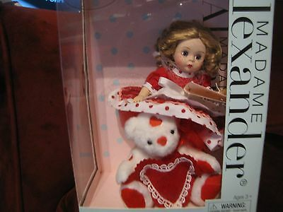 "Madame Alexander 8"" My Little Valentine Doll"