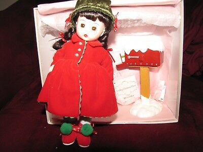 "Madame Alexander 8"" Sending Christmas Cheer Doll"