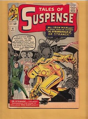 TALES OF SUSPENSE #41 Marvel Comics 1963 3rd Iron Man