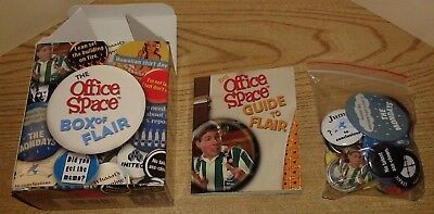 The Office Space Box of Flair - Buttons And Mini Booklet - Mint