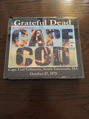 Grateful Dead Jerry Garcia Cape Cod Yarmouth MA October 27, 1979 3CD LIVE