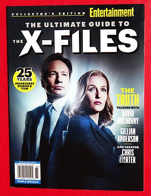 Entertainment Weekly Collector's Edition 2018 X-FILES BRAND NEW BOOK