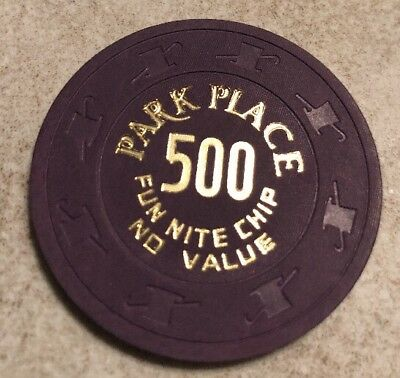Park Place NCV Casino Chip Atlantic City New Jersey 2.99 Shipping