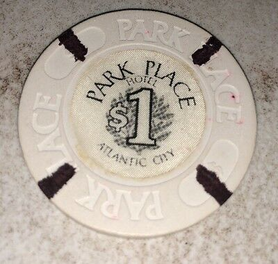 Park Place $1 Casino Chip Atlantic City New Jersey 2.99 Shipping
