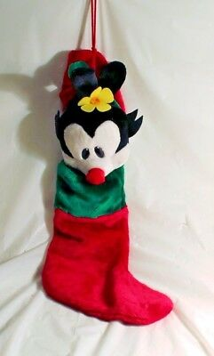 Animaniacs Plush Dot Christmas Stocking WARNER Bros RARE VINTAGE Great Shape!