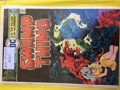 #18  Swamp Thing  Vf/ Nm   50% To 70% Discount