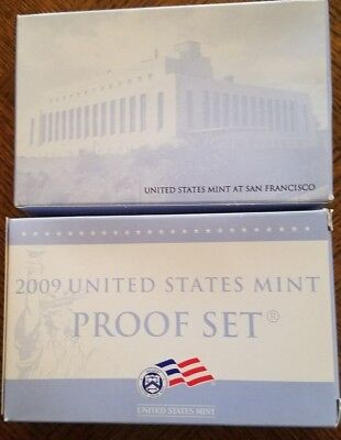 2009 U.S Mint Proof Sets - 18 Proof Coins in 4 Lenses- OGP - COA