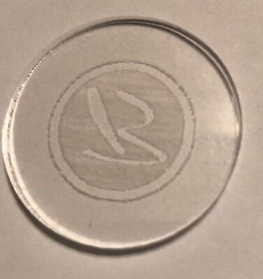 Borgata Clear Chip NCV Casino Chip Atlantic City New Jersey 2.99 Shipping