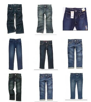 NWT Gymboree Girls Jeans Shop and Friendship Camp Jeans- Largest Collection!
