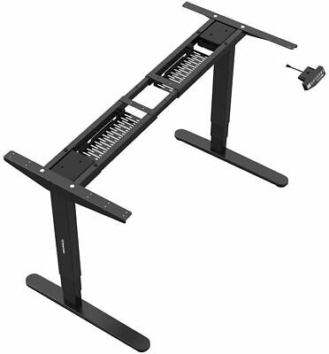 PrimeCables® Sit-Stand Dual-Motor Height Adjustable ADR Desk Frame, Electric