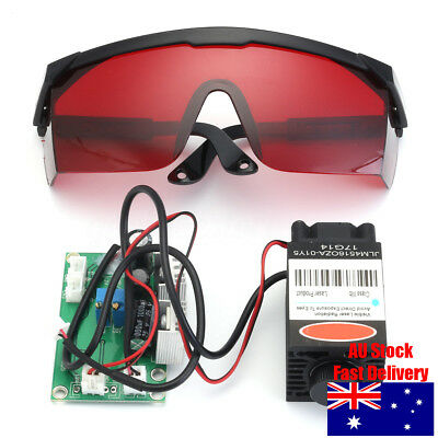 2000mw Laser Engraving Machine Red Dot Module Engraver 405nm Protection Goggles