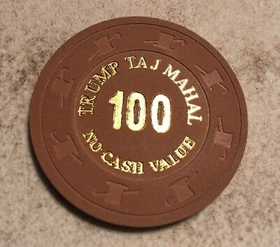 Trump Taj Mahal NCV Casino Chip Atlantic City New Jersey 2.99 Shipping