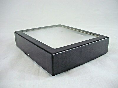 """1 deep Riker Display Case 6 x 5 x 1 3/8"""" for Collectibles Arrowheads Jewelry"""