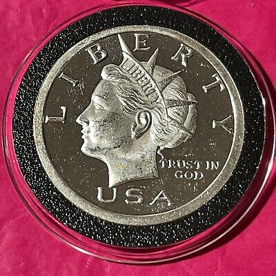 2003 NORFED Liberty Head 1 Troy Oz .999 Fine Silver Round Collectible Coin Medal