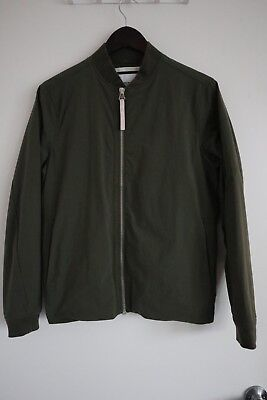 19689b1f8 NORSE PROJECTS, RYAN Ripstop Bomber Jacket, Olive Drab, Small (Originally  $350)