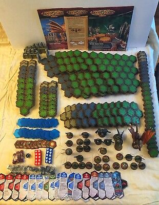 Heroscape Master Set Rise Of The Valkyrie - 100% Complete - 1St Edition
